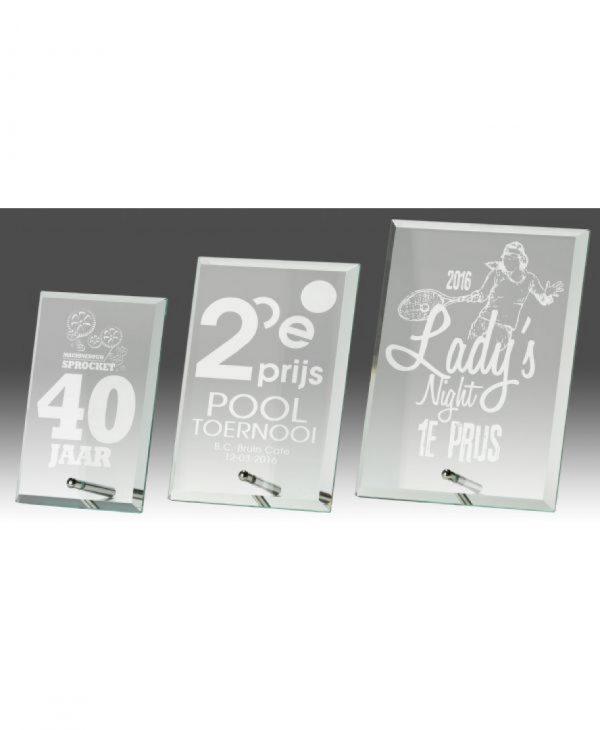 Glas standaard B318 | Sportprijzen Vught