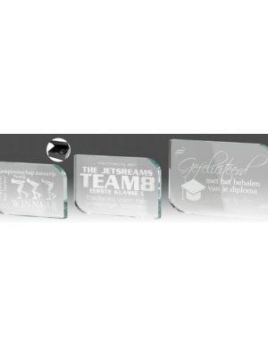 Glas standaard B338 | Sportprijzen Vught