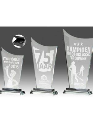 Glas standaard B343 | Sportprijzen Vught