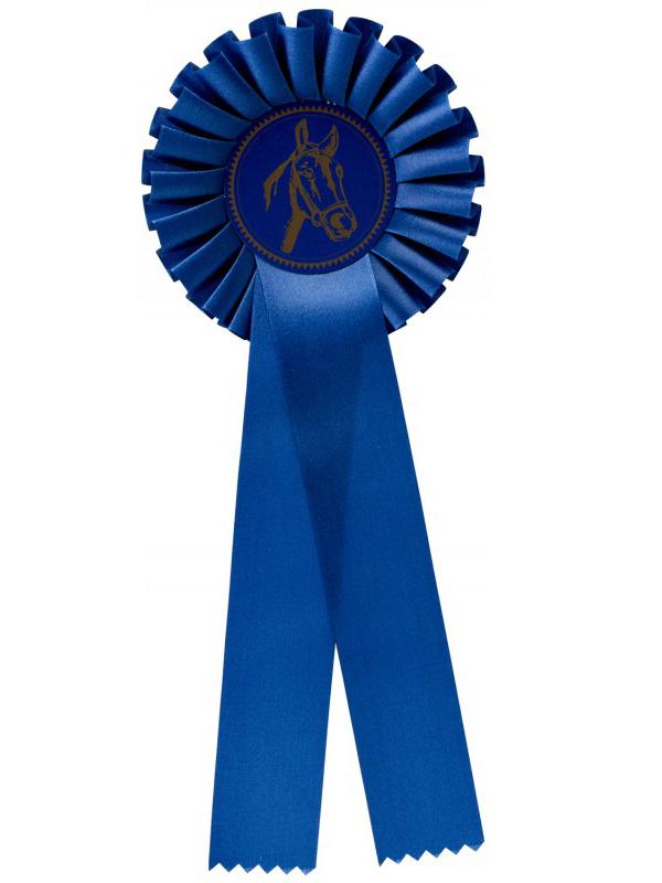 rozet-g100-blauw | Sportprijzen Vught