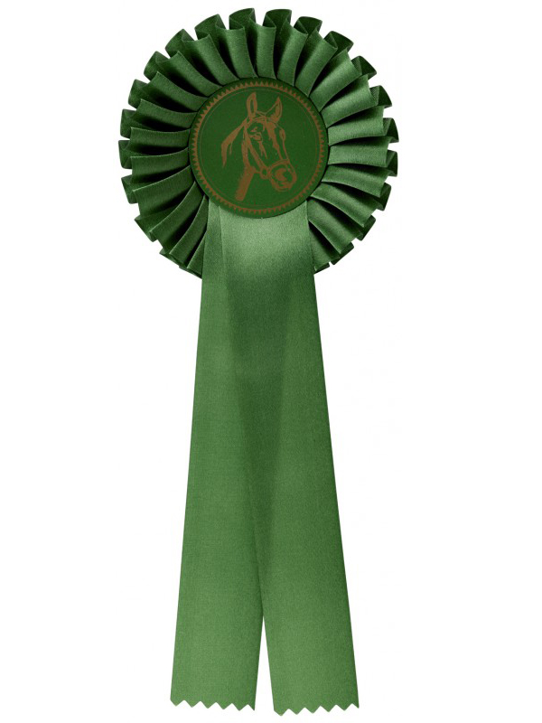 rozet-g100-groen | Sportprijzen Vught