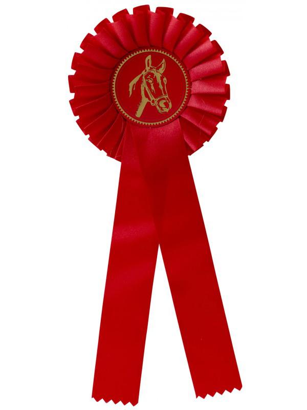 rozet-g100-rood | Sportprijzen Vught